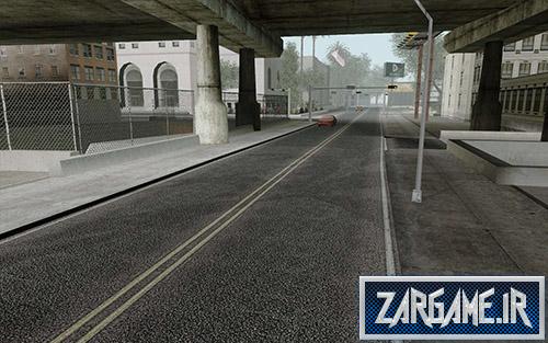 دانلود پک جاده و خیابان های با کیفیت HD برای بازی (GTA 5 (San Andreas
