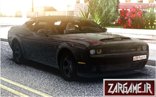 دانلود Dodge Challenger SRT برای (GTA5 (San Andreas