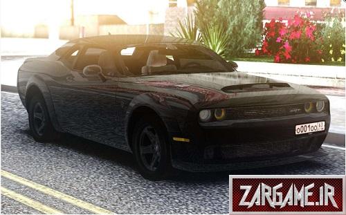 دانلود Dodge Challenger SRT برای (GTA5 (San Andreas