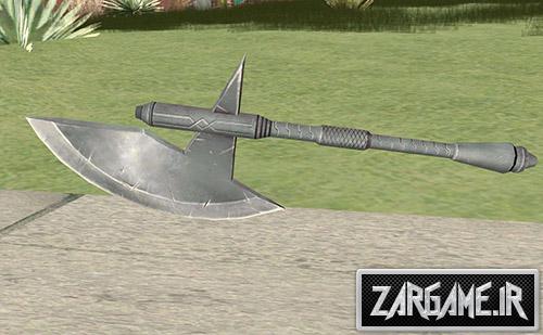 دانلود تبر غول پیکر برای بازی (GTA 5 (San Andreas