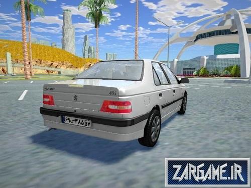 دانلود پژو 405 SLX باکیفیت برای بازی (GTA 5 (San Andreas