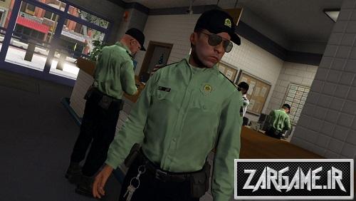 دانلود اسکین پلیس ناجا برای بازی بازی GTA V