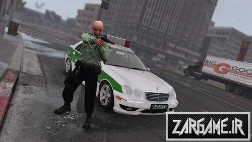 دانلود اسکین پلیس ناجا برای بازی GTA V