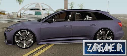 دانلود ماشین Audi RS6 2020 برای بازی (GTA 5 (San Andreas