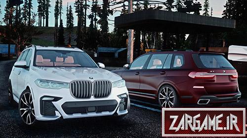 دانلود ماشین BMW X7 2019 برای بازی (GTA 5 (San Andreas