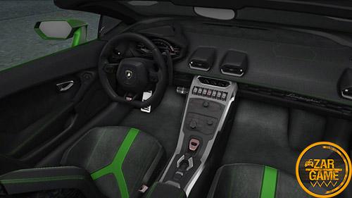 دانلود ماشین 2020 Lamborghini Huracan Evo Spyder برای بازی (GTA 5 (San Andreas