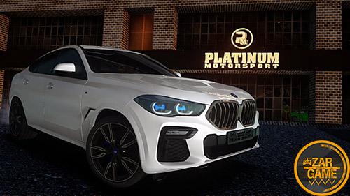 دانلود ماشین 2020 BMW X6 M50i برای بازی (GTA 5 (San Andreas