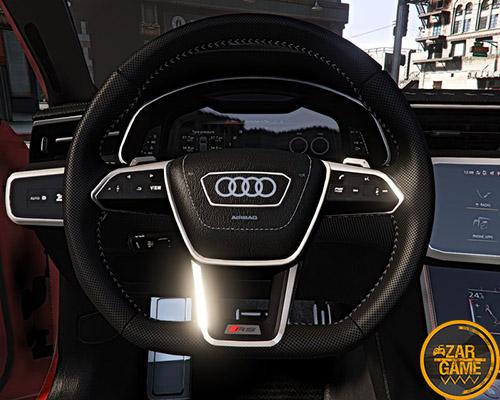دانلود ماشین 2020 Audi RS6 Avant برای بازی GTA V