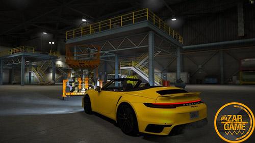 دانلود ماشین Porsche 911 Turbo S Cabriolet 2020 برای بازی GTA V