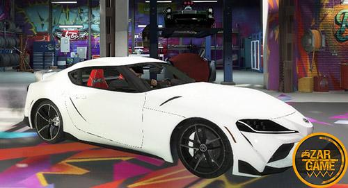 دانلود ماشین تویوتا Supra 2020 برای بازی GTA V