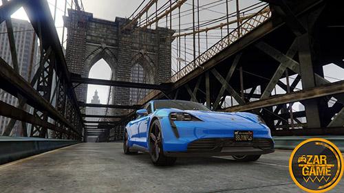 دانلود ماشین پورشه تایکان توربو S مدل 2020 برای بازی GTA V