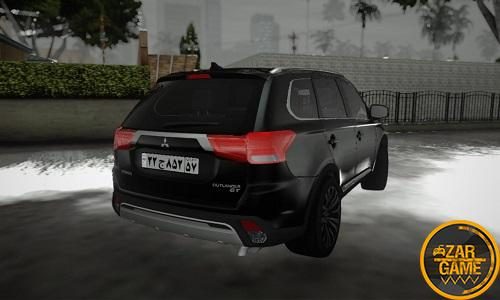 دانلود 2018 Mitsubishi Outlander GT برای GTA5 (San Andreas)