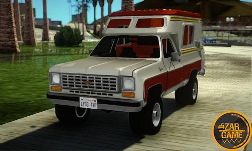 دانلود Chevrolet Blazer Chalet برای GTA5 (San Andreas)