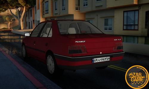 دانلود Peugeot 405 GLX باکیفیت برای GTA5 (San Andreas)