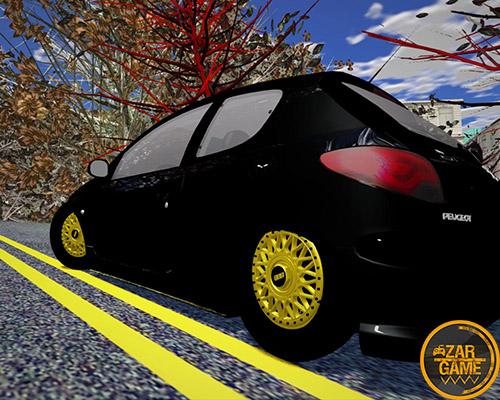 دانلود ماشین پژو 206 کفخواب برای بازی (GTA 5 (San Andreas