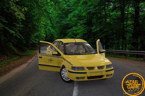 دانلود سمند تاکسی ورژن جدید برای بازی (GTA 5 (San Andreas