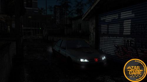 دانلود ماشین پژو پارس پرسپولیسی برای بازی (GTA 5 (San Andreas