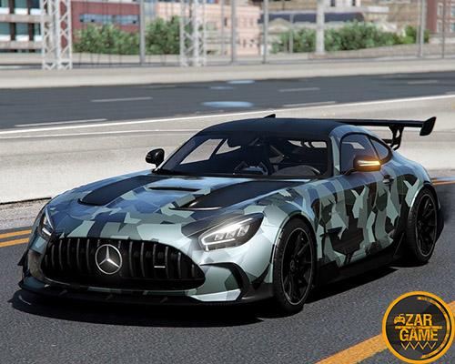 دانلود ماشین Mercedes Benz AMG GT Black Series 2020 برای بازی GTA V
