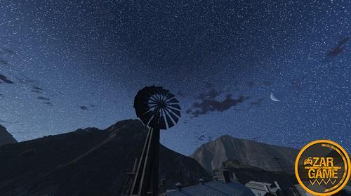 دانلود ماد آسمان طبیعی شب برای بازی GTA V