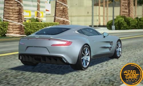دانلود ماشین 2012 Aston Martin ONE-77 برای GTA5 (San Andreas)