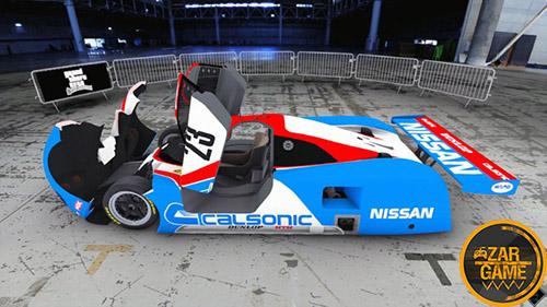 دانلود ماشین 1989 Nissan R89C LM برای بازی (GTA 5 (San Andreas