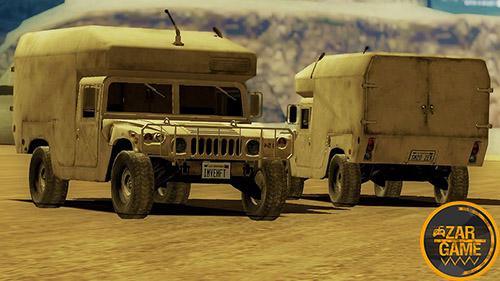 دانلود ماشین نظامی HUMVEE 1994 برای بازی (GTA 5 (San Andreas
