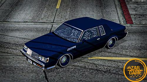 دانلود ماشین کلاسیک BUICK GNX 1987 LOWRIDER برای بازی (GTA 5 (San Andreas