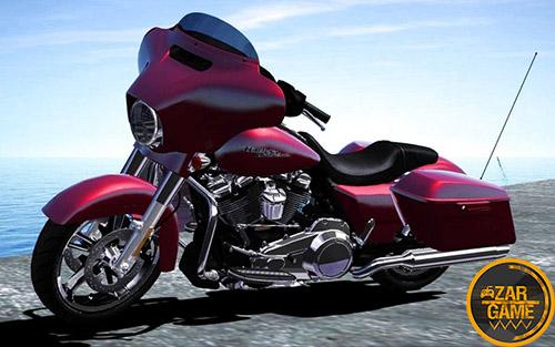 دانلود موتور هارلی دیویدسون FLHXS - Street Glide Special 2017 برای بازی (GTA 5 (San Andreas