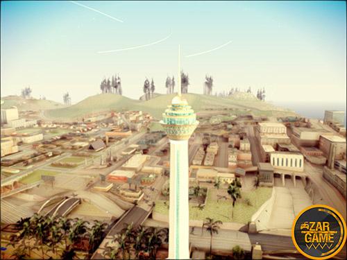 دانلود برج میلاد تهران برای بازی (GTA 5 (San Andreas