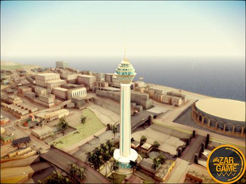دانلود برج میلاد برای بازی (GTA 5 (San Andreas