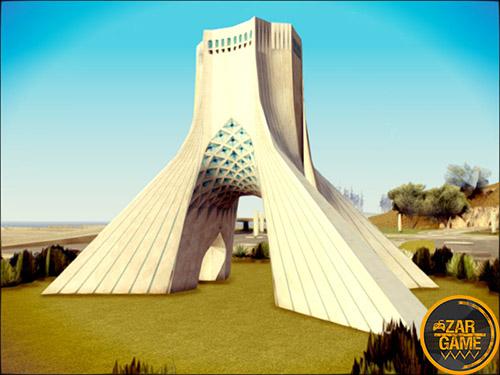دانلود برج آزادی تهران برای بازی (GTA 5 (San Andreas