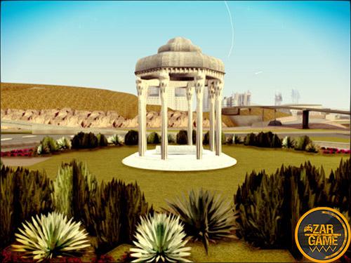 دانلود مقبره حافظ شیرازی برای بازی (GTA 5 (San Andreras