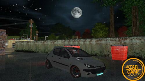 دانلود خودرو پژو 206 تیونینگ برای بازی (GTA 5 (San Andreas