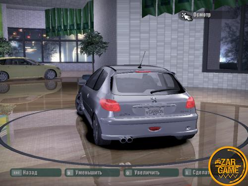 دانلود خودرو Peugeot 206 RC برای بازی NFS Carbon