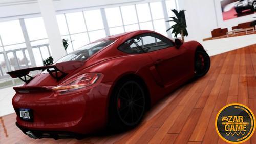 دانلود خودرو 2015 Porsche Cayman GT4 برای بازی (GTA4 (GTAIV