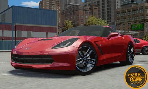 دانلود ماشین Chevrolet Corvette C7 برای بازی GTA IV