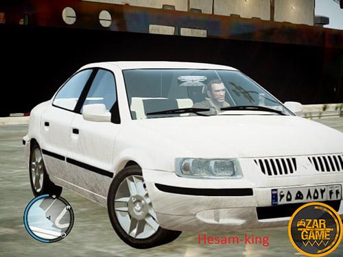 دانلود ماشین سمند SE برای بازی GTA IV