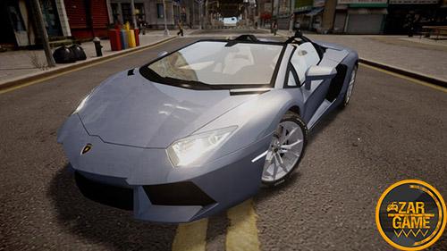 دانلود ماشین Lamborghini Aventador Roadster برای بازی GTA IV