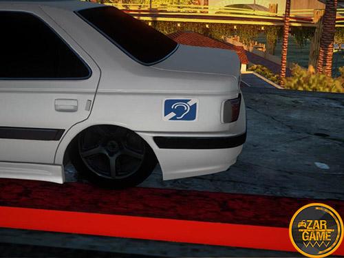 دانلود ماشین پژو پارس سازگار با سیستم های ضعیف برای بازی (GTA 5 (San Andreas