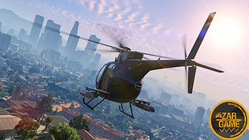 دانلود لود اسکرین با کیفیت GTA V برای بازی (GTA 5 (San Andreas