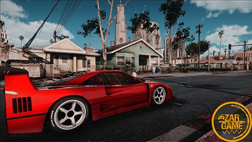 دانلود ENB | مد افزایش گرافیک EPG برای بازی (GTA 5 (San Andreas
