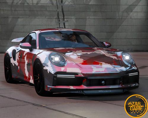 دانلود ماشین 2021 Porsche 911 Turbo S برای بازی GTA V