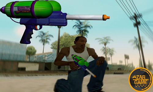 دانلود تفنگ آب پاش برای بازی (GTA 5 (San Andreas