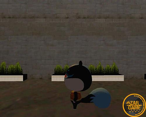 دانلود اسکین Tasha از بازی Animal Crossing برای بازی (GTA 5 (San Andreas