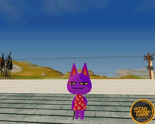 دانلود اسکین BOB از بازی Animal Crossing برای بازی (GTA 5 (San Andreas
