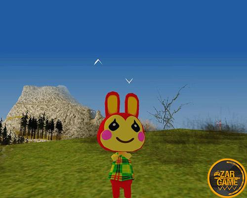 دانلود پک اسکین خرگوش ها از بازی Animal Crossing برای بازی (GTA 5 (San Andreas