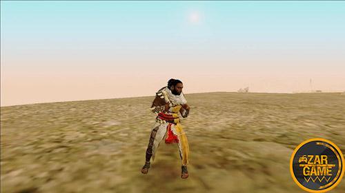 دانلود اسکین Bayek از بازی Assassins Creed: Origins برای بازی (GTA 5 (San Andreas