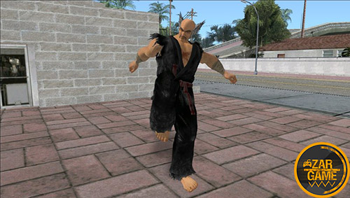 دانلود اسکین Heihachi Mishima از بازی Tekken 7 برای بازی (GTA 5 (San Andreas