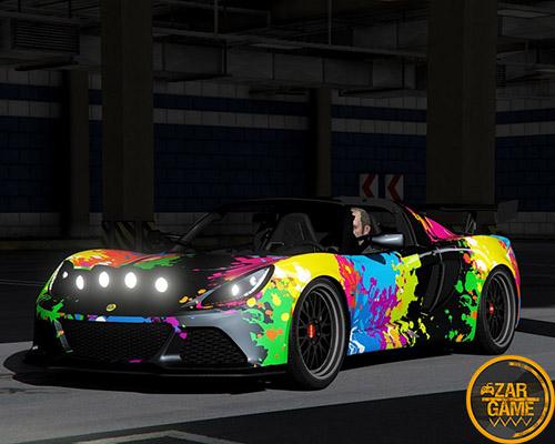 دانلود ماشین Lotus Exige S 2012 برای بازی GTA V