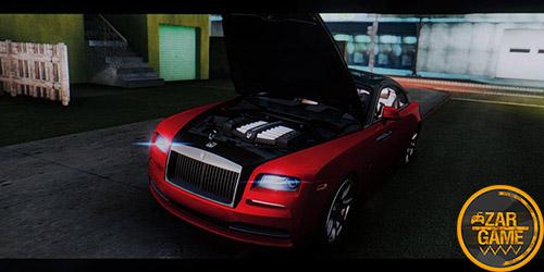 دانلود ماشین Rolls-Royce Wraith برای بازی (GTA 5 (San Andreas